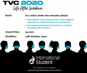 International Student Travel Video Contest: Life After Lockdown